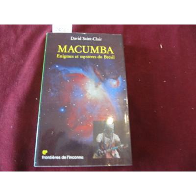David Saint : MACUMBA...