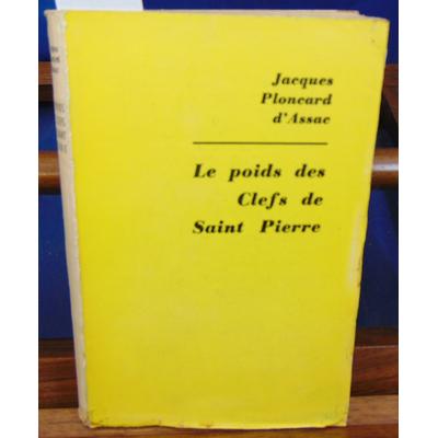 Assac  : Le poids des clefs de Saint Pierre...