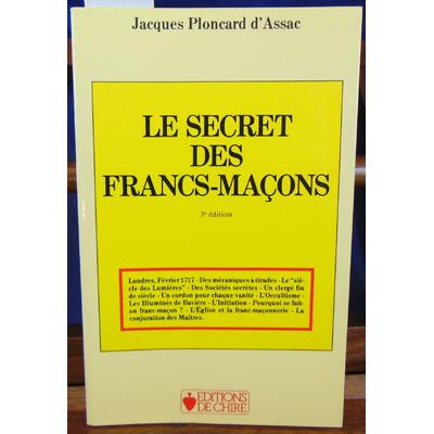 Assac ² : Le secret des Franc-Maçons...