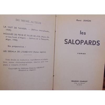Janon René : Les salopards...