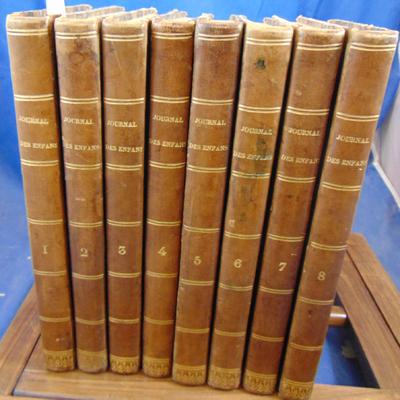 : journal des enfans 8 volumes 1832 - 1839...