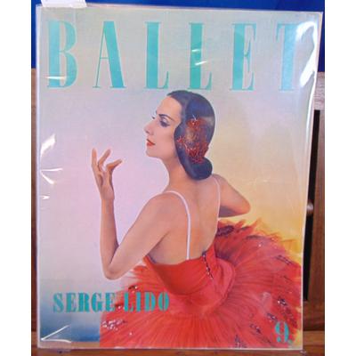 Lido  : Ballet -9 Photographies de Serge Lido, , préface de A. M . Julien...