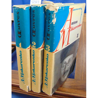 Makarenko  : Oeuvres en trois volumes...