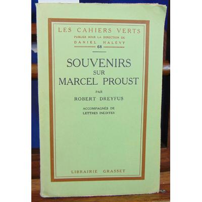 Dreyfus Robert : souvenirs sur Marcel Proust...