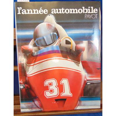 : L'année automobile   N°31 1983 1984...