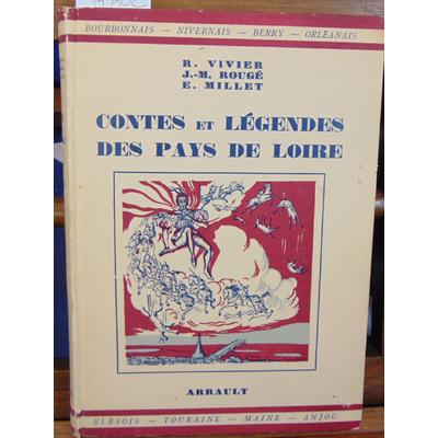 Vivier  : Contes et légendes des pays de Loire...