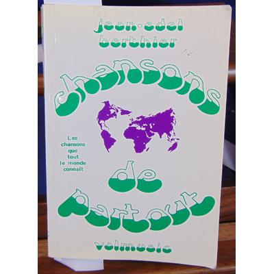 Berthier  : chansons de partout. 770 chansons de tous pays...