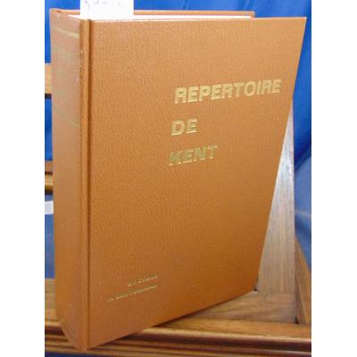 Broussalian  : Répertoire de Kent...
