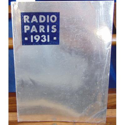 Collectif  : Radio-Paris 1931...
