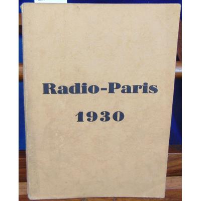 : Radio-Paris 1930...