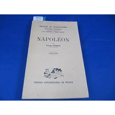 LEFEBVRE Georges : NAPOLEON...