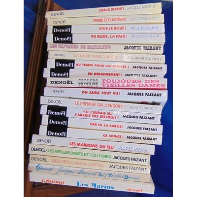 : Lot 19 albums de Jacques Faizant...