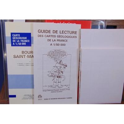 Debelmas  : Carte géologique de la France. Bourg-Saint Maurice 1/50 000...