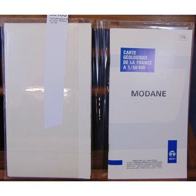 Debelmas  : Carte géologique de la France. Modane 1/50 000...