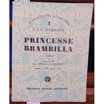 Hoffmann  : Princesse Brambilla. Caprice...