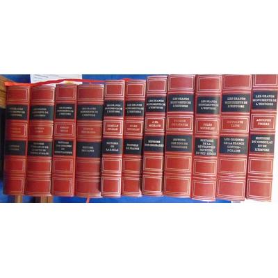 : Les grands monuments de l'histoire. 11 volumes...