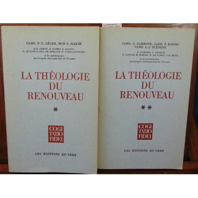 Collectif  : La théologie du renouveau : Texte intégral des travaux présentés au Congrès international de Toro
