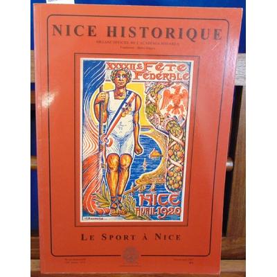 Collectif  : Nice historique. Le Sport à Nice...