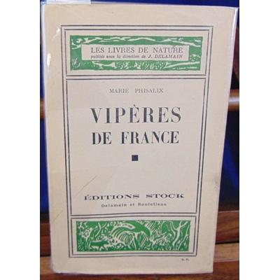 Phisalix  : Vipères de France...