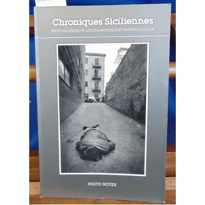 : Chroniques siciliennes...