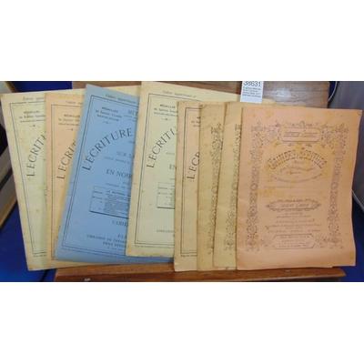 : 5 cahiers Méthode Rollin L'écriture rendue facile. et 3 Méthode Godchaux...