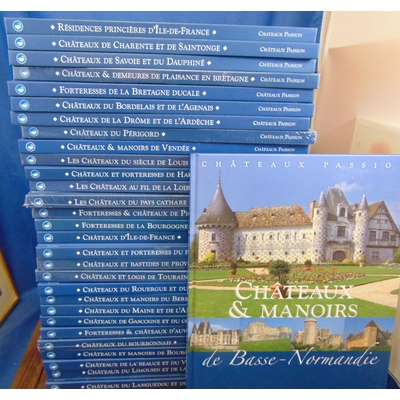 : Chateaux passions. 31 volumes...