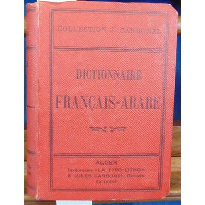 Sedira  : Dictionnaire Français - Arabe...