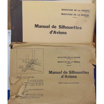 : Manuel de silhouettes d'avions 1944...
