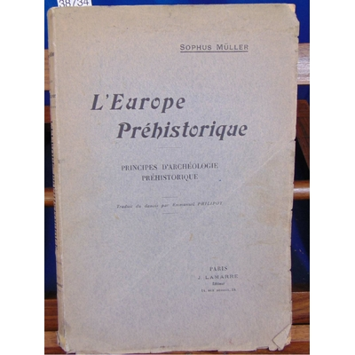 Muller  : L'Europe préhistorique...