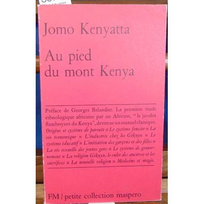 Kenyatta  : Au pied du mont Kenya...