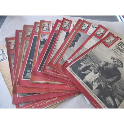 collectif : lot 13 revues 7 JOURS année 1941...