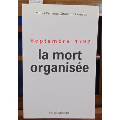 Coursac  : Septembre 1792, la mort organisée...