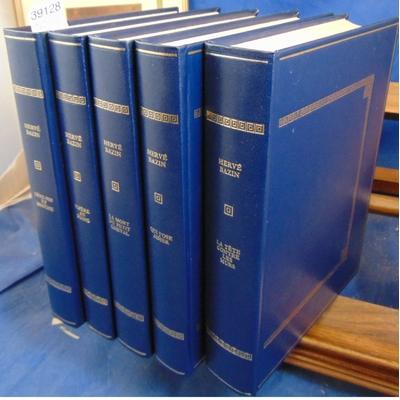 Bazin  : Oeuvres ( 5 volumes illustrés ) Editions Rombaldi...