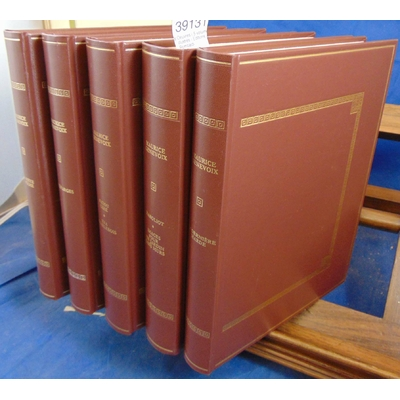 Genevoix  : Oeuvres ( 5 volumes illustrés ) Editions Rombaldi...