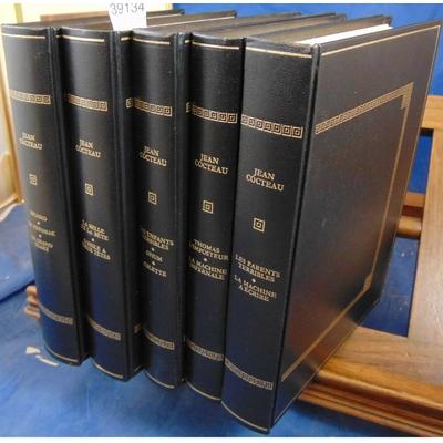 Cocteau  : Oeuvres ( 5 volumes illustrés ) Editions Rombaldi...