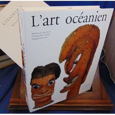 Kaufmann Christian : L'art  d'océanien. Citadelle Mazenod...