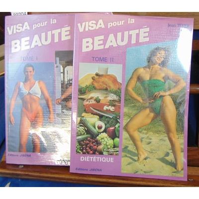 Texier  : visa pour la beauté. tome 1 et 2...