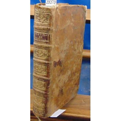 : Traité des bienfaits de Sénèque, précédé d'un Discours sur la traduction, par M. Dureau de Lamalle - 1776.