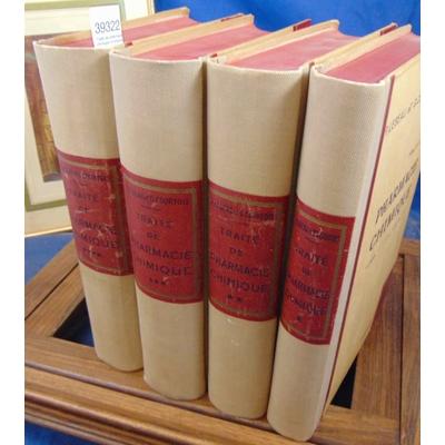 Lebeau  : Traité de pharmacie chimique. 4 volumes...