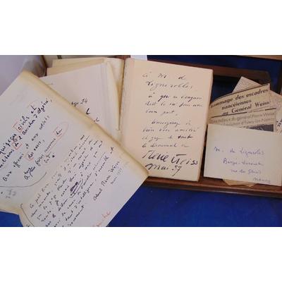 Weiss  : Le secret du sud. . E. O. sur Madagascar (N°1 ) avec envoi et lettres...