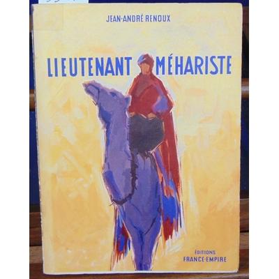 Renoux  : Lieutenant méhariste...