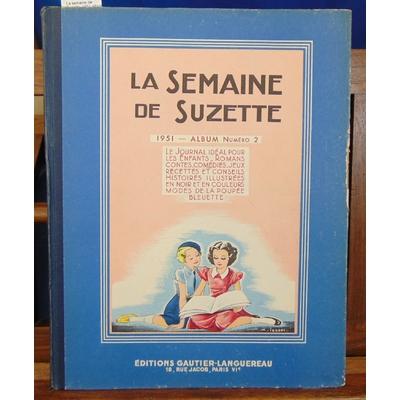 Collectif  : La semaine de Suzette. 1951 album °2...