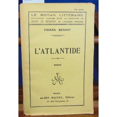 Benoit  : L'atlantide...