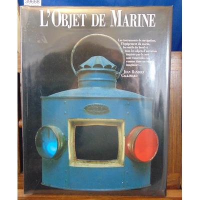 Randier Jean : L'objet de marine...