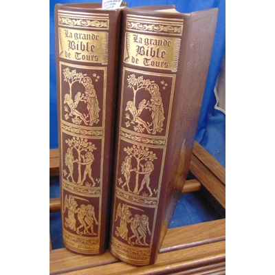 Collectif  : La grande bible de Tours. 2 tomes, illustrations de Gustave Doré...