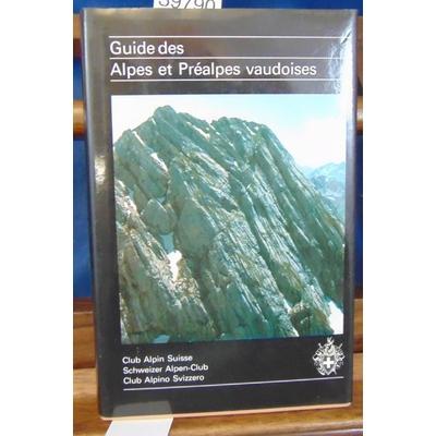 Brandt  : Guide des alpes et préalpes Vaudoises...