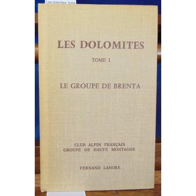 Deck  : Les dolomites. tome 1 : le groupe de Brenta...