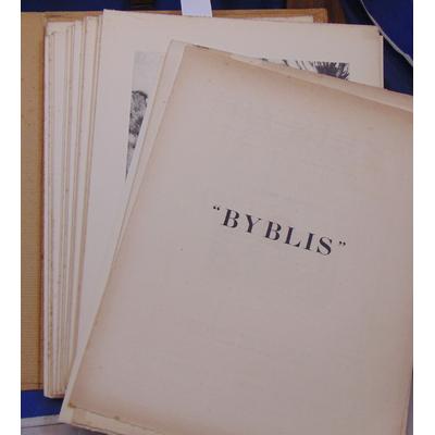 : Byblis 1928 ( incomplet )...