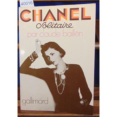 Baillen  : Chanel solitaire...