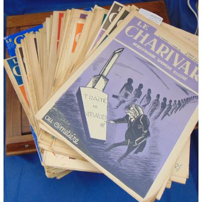 : Lot de 70 N° Charivari 1929 - 1932...